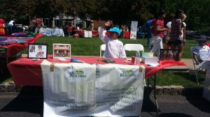 Vision Builders Booth at Sansksriti India Day in Livingston, NJ